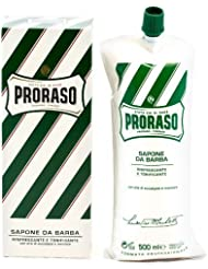 Proraso Shave Cream Menthol & Eucalyptus 500ml Tube by Proraso [並行輸入品]