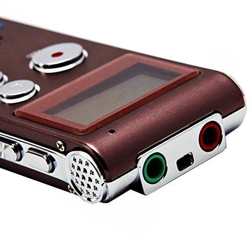 ICレコーダー ボイスレコーダー 4GB 長時間 小型 高音...