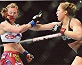 RONDA ROUSEY MMA FIGHTER 8X10 SPORTS ACTION PHOTO (CAT) by jcgsports [並行輸入品]