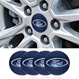 4 x 56.5mm Car Lettering BBS Wheel Center Cap Sticker Wheel Emblem Badge Logo Stickers fit Ford Accessory