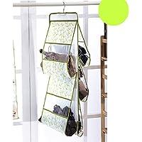 Carejoy 吊り下げ 収納 バッグ カバン収納 ハンドバッグ財布オーガナイザー かばんバッグ整理 防塵 通気性 小物収納 グリーン