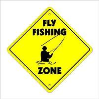 Fly Fishing ZONE Sign xingギフトノベルティFlyfishingティペットTyingロッドリール