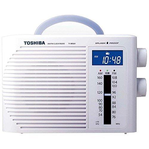 東芝 防水クロックラジオ ホワイト TY-BR30F(W)