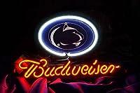 Desungブランド新しいB udweiserビールスポーツチームpenn-state n-lions Neon Sign (各種サイズ)バーパブMan Caveビジネスガラスネオンランプライトdf87 17 Inches