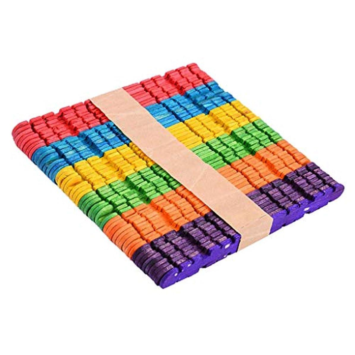 バージン虫を数える満員FidgetGear 50x Toothed Handmade Arts and Crafts Sticks Kids DIY Crafts Popsicle Stick