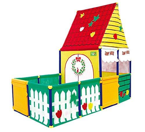 Floving キッズテントハウス 子供テント プレーテントキッズ Kidshouse キッズテントハウス テントおもちゃ 知育玩具 室内外使用可 出産お祝いプレゼント 秘密基地 隠れ家 おままごと 子供部屋
