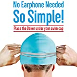BEKER - Bone Conduction 8G MP3 Player Headset Waterproof IPX8 Sport Swimming Mini Music Player, No Headphones Needed (Black)