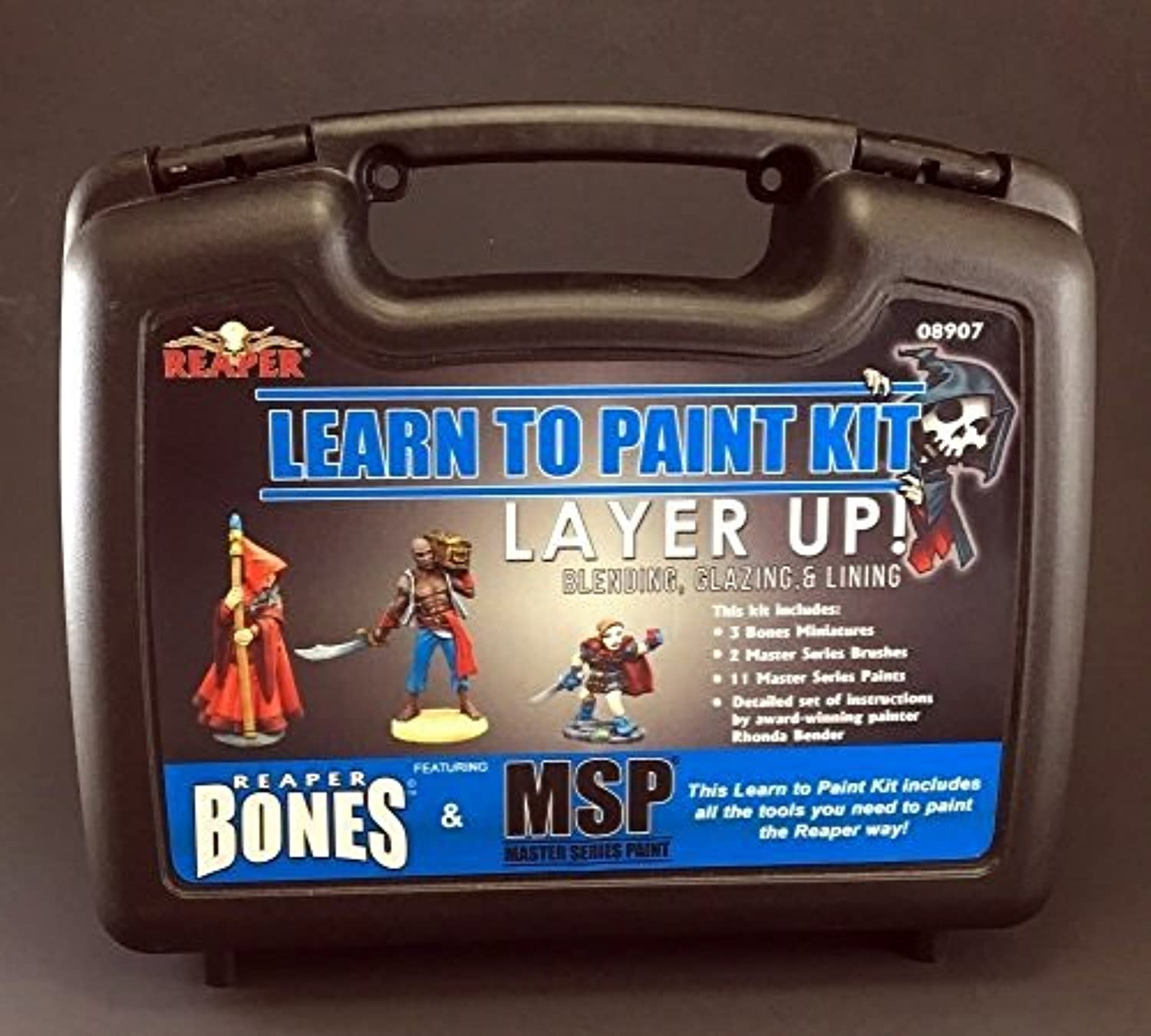 Reaper Miniatures Learn To Paint Kit 08907 Layer Up