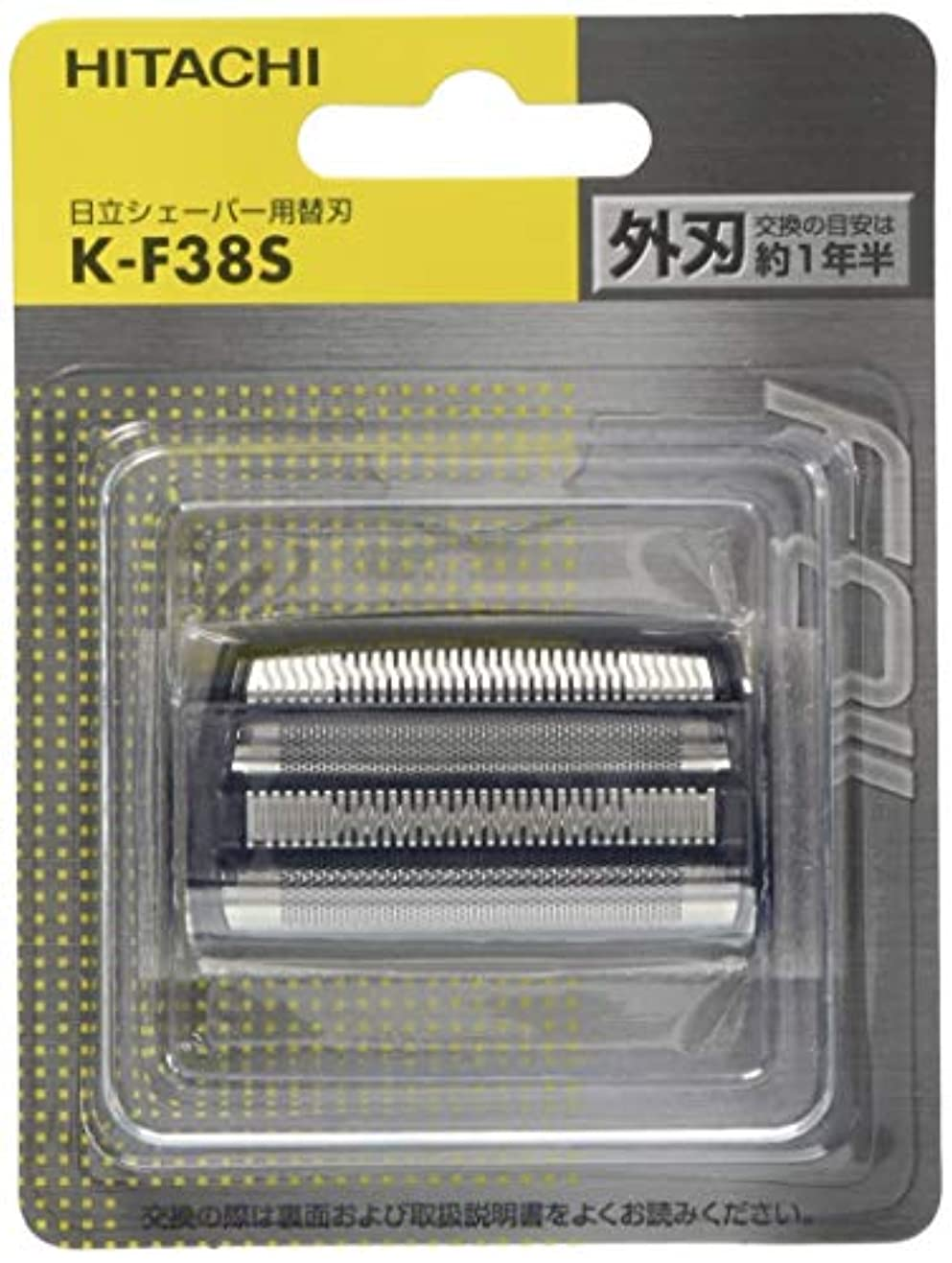 寺院歩行者コテージ日立 メンズシェーバー用替刃(外刃) K-F38S