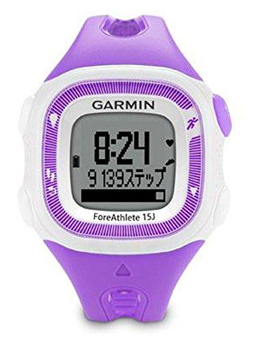 [해외]GARMIN (가민) 달리기 GPS ForeAthlete15J 바이올렛 | 화이트 일본 정품 124127/GARMIN (Garmin) running GPS ForeAthlete 15J Violet | White Japan genuine article 124127