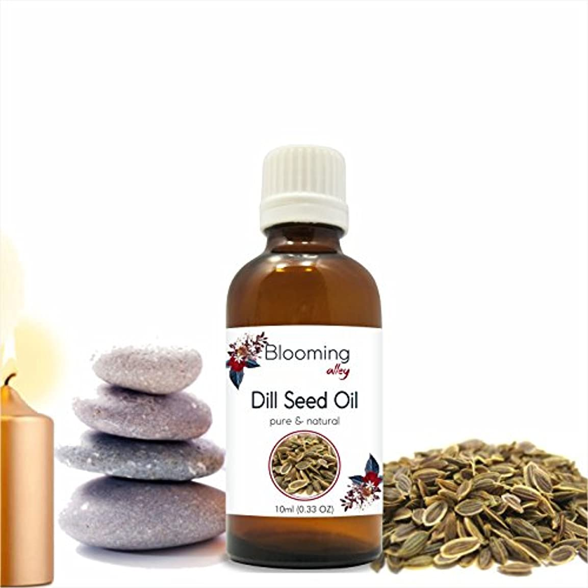 彼自身ラッシュ左Dillseed Oil(Anethum Graveolens) Essential Oil 10 ml or 0.33 Fl Oz by Blooming Alley