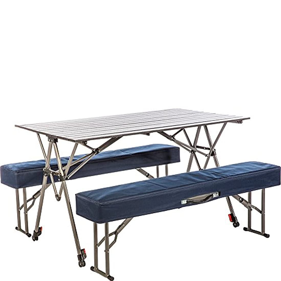 徹底おめでとう徴収Kamp-Rite Kwik Set Table with Benches by Kamp-Rite