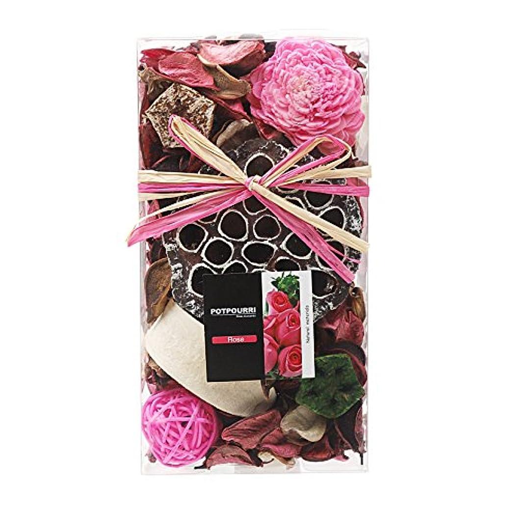 トラフエクスタシー文字Qingbei Rina ポプリ ピンク 200g バラのポプリ ギフト 手作りの自然素材