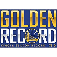 Fanatics Branded Golden State Warriors Royal Record Breaking Season Golden Record Long Sleeve T-Shirt スポーツ用品 L 【並行輸入品】