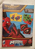 Spiderman Homecoming 72 Piece Memory Match Game [並行輸入品]
