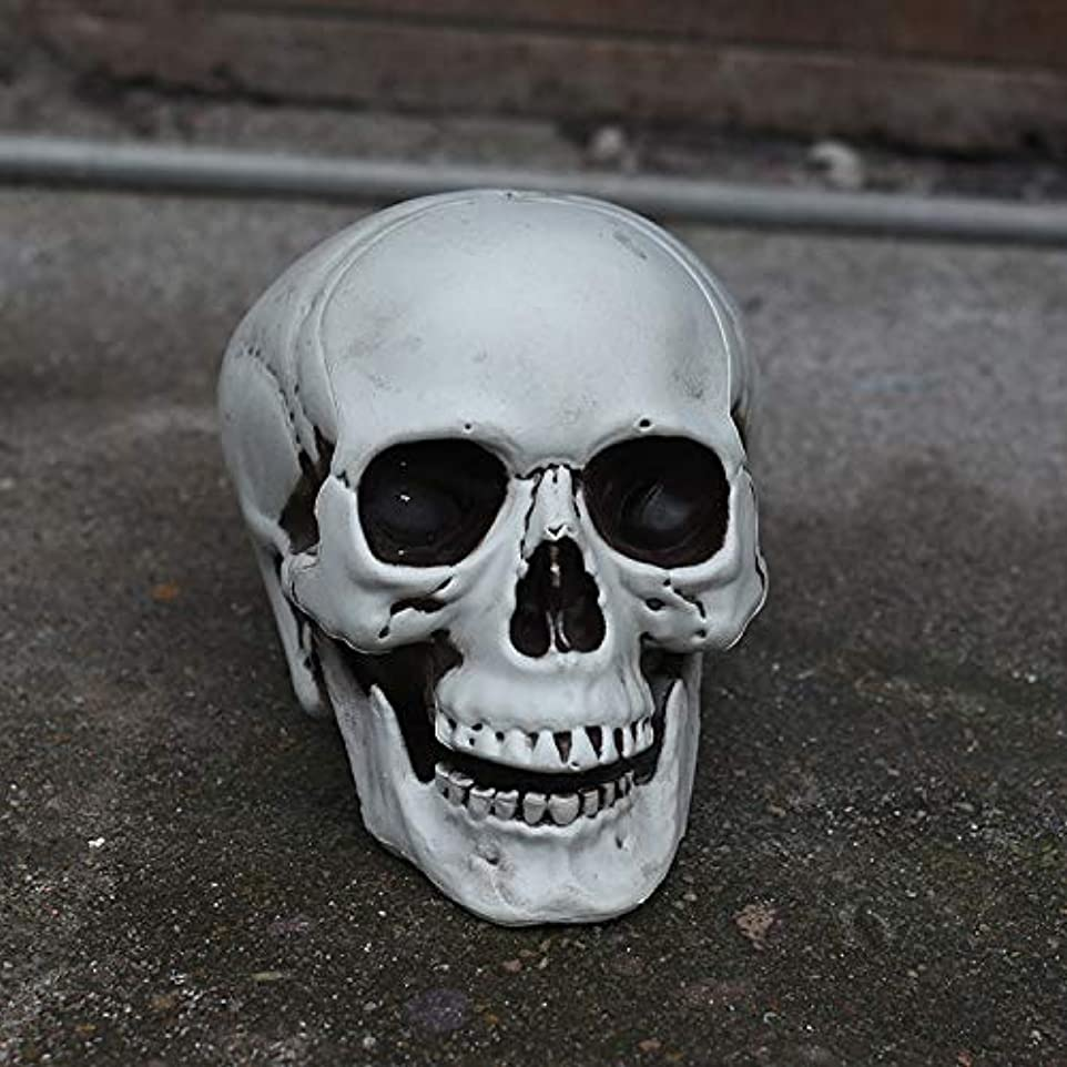 飢検索エンジンマーケティング原始的なETRRUU HOME ハロウィーンホラーシミュレーションスカル装飾品全体おかしいおもちゃバーお化け屋敷秘密の部屋怖い装飾小道具
