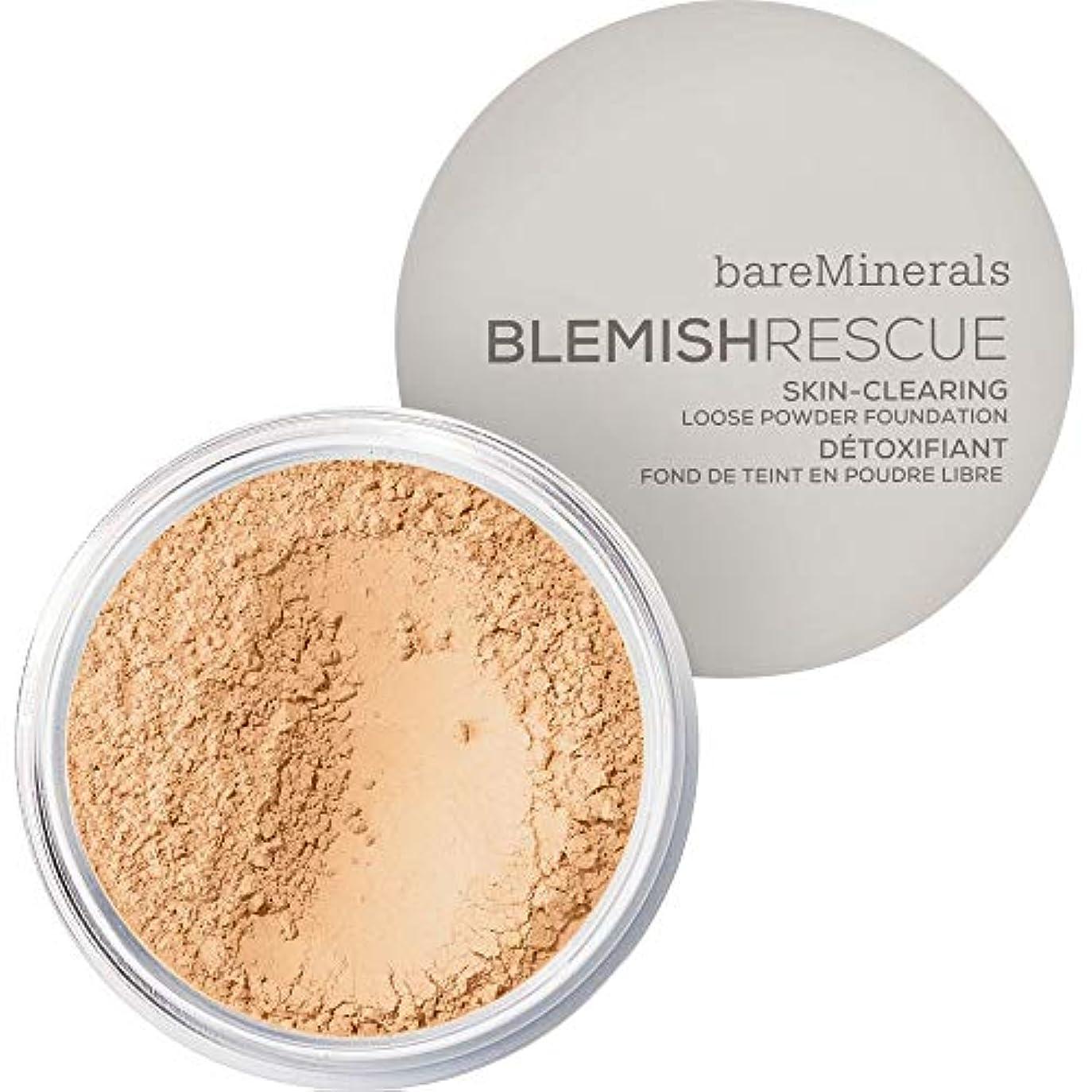 彫る農奴知らせる[bareMinerals ] 光 - ベアミネラルは、レスキュースキンクリア2ワットを6G緩いパウダーファンデーションを傷 - bareMinerals Blemish Rescue Skin-Clearing Loose Powder Foundation 6g 2W - Light [並行輸入品]