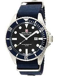 [スイスミリタリー]SWISS MILITARY 腕時計 NAVY ネイビー ML-414 メンズ 【正規輸入品】