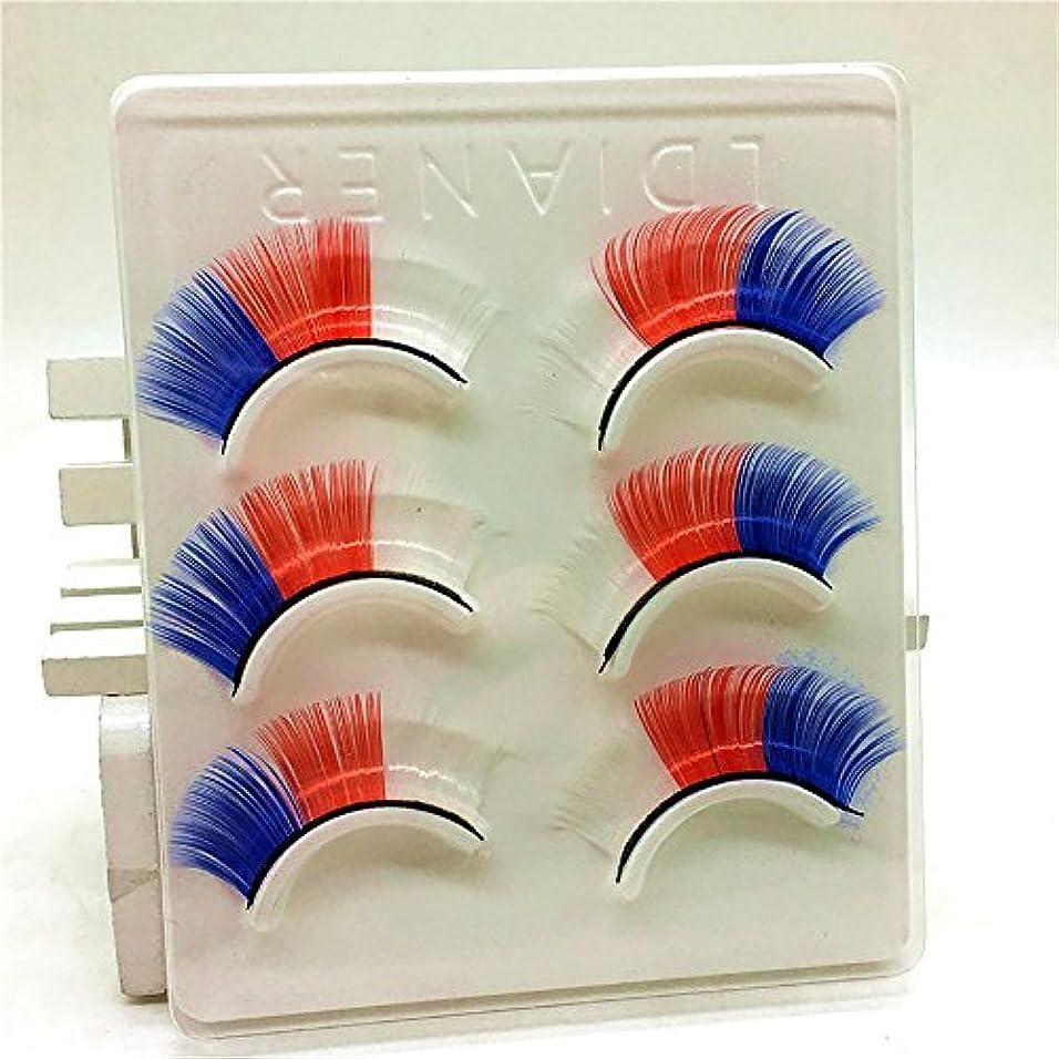 北西器用電圧贅沢な3Dのまつげふわふわのストリップまつげの長い自然な党