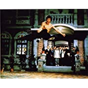 ブロマイド写真★ブルース・リー『ドラゴン怒りの鉄拳』ラストの大ジャンプ