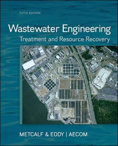 Download Wastewater Engineering: Treatment and Resource Recovery 0073401188