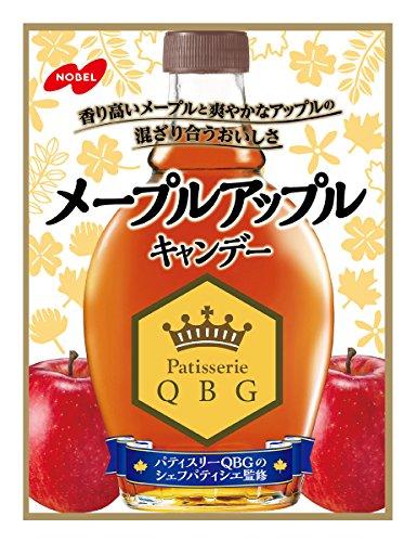 ノーベル製菓 メープルアップル 100g×6個 ノーベル製菓