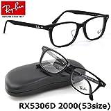 Ray Ban 【レイバン国内正規品販売認定店】RX5306D 2000 53サイズ Ray-Ban (レイバン) メガネフレーム