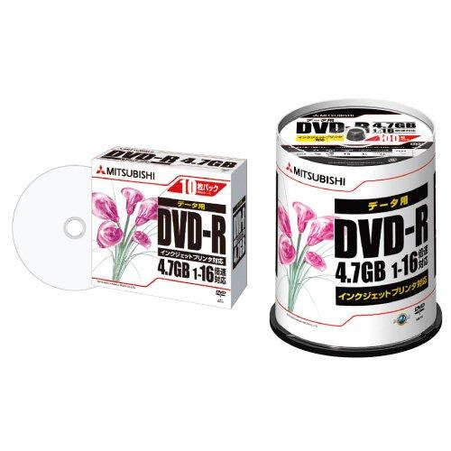 三菱化学メディア DVD-R 4.7GB PCデータ用 16...