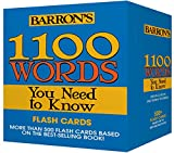 Barron's 1100 Words You Need to Know (Flashcards)