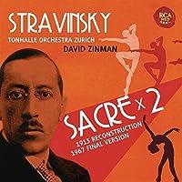 Stravinsky: Le Sacre Du Printemps by ZINMAN / TONHALLE ORCH ZURICH