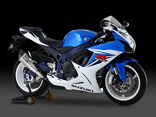 ヨシムラ(YOSHIMURA) バイクマフラー スリップオン R-11 サイクロン EXPORT SPEC 2エンド 政府認証 ST チタンカバー GSX-R600(EU仕様 L1-L2) 110-571-5580 バイク オートバイ