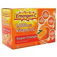 Emergen-C, Super Orange, 30 pkt, Pack of 2