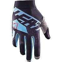 Leatt GPX 2.5x-flowオフロード/ダートバイクオートバイ手袋–ブラック/ブルー/ミディアム