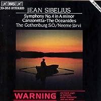 Sibelius: Symphony No.4 / Canzonetta / Oceanides (1994-09-22)