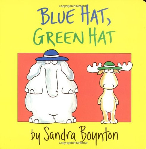 Blue Hat, Green Hat (Boynton Board Books)の詳細を見る