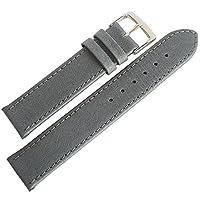 Fluco豚革20mmグレースムースレザーgerman-madeメンズ腕時計ストラップ