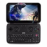 GPD WIN 黒 + 液晶保護フィルム付属 (Windows10 /5.5inch /IPS液晶 /Intel Atom X7 Z8750) (4GB/64GB)(USB Type-C /USB3.0 /HDMI /Bluetooth4.1) (タッチパネル /Gorilla Glass 3 /Gamepad Tablet PC /UMPC /8750) (ブラック) [正規輸入品]