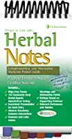 Herbal Notes: Complementary & Alternative Medicines Pocket Guide (Davis's Notes)
