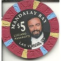$ 5マンダレーベイObsolete Luciano PavarottiラスベガスカジノチップObsolete