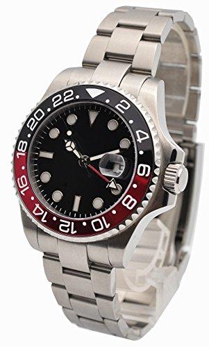 ノーロゴ 腕時計 自動巻き サブマリーナタイプ NL-553...