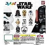 コレキャラ! スター・ウォーズ STAR WARS 全7種フルコンプセット [ 01. ダース・ベイダー / 02.C-3PO / 03. R2-D2 / 04. BB-8 / 05. ストームトルーパー / 06. AT-ATパイロット / 07. TIEファイター・パイロット ]