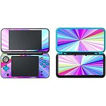 eSeeking Vinyl Cover Decals Skin Sticker for New Nintendo 2DS XL / LL - Rainbow Spokes
