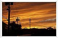 サンセット75のティンサイン 金属看板 ポスター / Tin Sign Metal Poster of Sunset 75