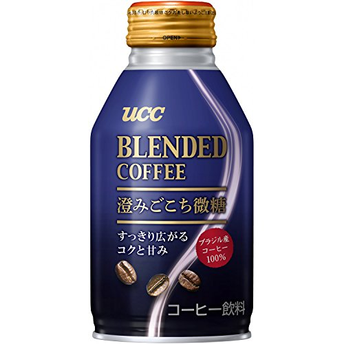 UCC ブレンドコーヒー 澄みごこち微糖 260g×3本