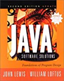 Cover of Java Software Solutions Pb