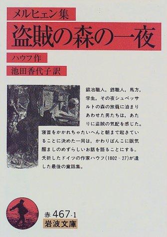 盗賊の森の一夜―メルヒェン集 (岩波文庫)の詳細を見る