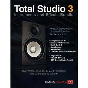 IK Multimedia TOTAL Studio 3 バンドル 数量限定 (IKマルチメディア) 国内正規品
