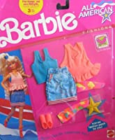 Barbie All American Fashions w Iron On Patch For YOU! (1990) [並行輸入品]