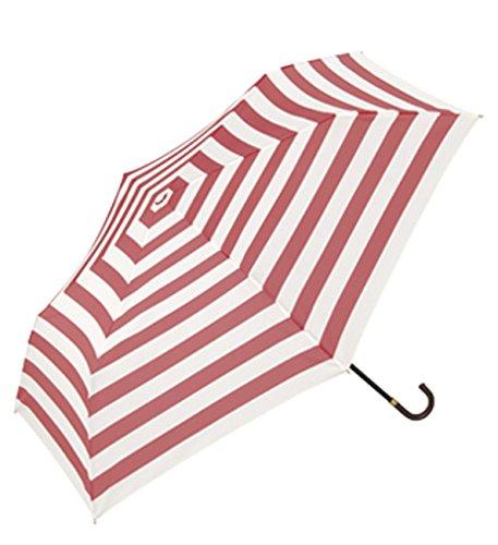 wpc-std 50cm ボーダーピンク323-016 (ワールドパーティー) W.P.C 折りたたみ傘 晴雨兼用 UV ワールドパーティー WPC 折りたたみ 傘 雨傘 日傘 W.P.C レディース メンズ ユニセックス wpc-std