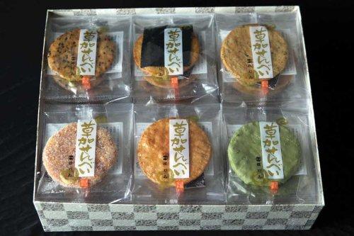 本場草加煎餅 (42枚入)草加せんべい★